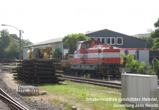 2016-08-06 Baustelle AKN A3 Barmstedt