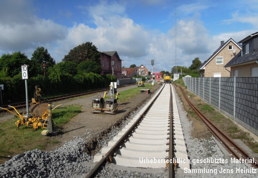 AKN Bf Barmstedt neues Gleis-2 06-Aug-2016 2