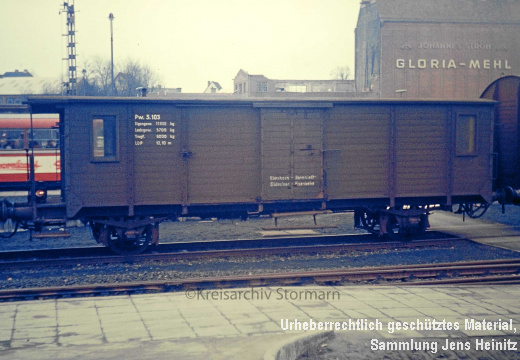 EBOE4552 Bf Oldesloe Packwagen Pw3.103 1971