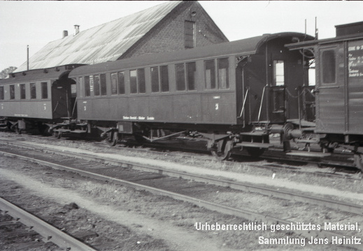 EBOE Bw Barmstedt Personenwagen-16 Pwi-20 1958 Manfred Hohmann